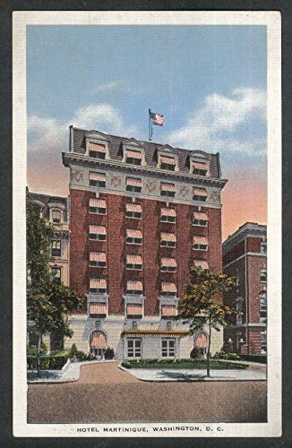 Hotel Martinique 16th & M Street Washington DC postcard - Street M Washington
