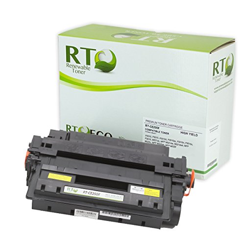 Renewable Toner Compatible High Yield Toner Cartridge Replacement for HP 55X CE255X Laserjet Enterprise P3010 P3015 P3016 M521