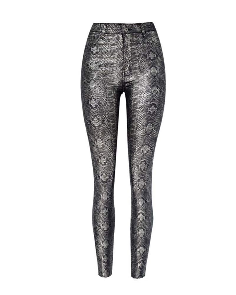 Leggins serpiente