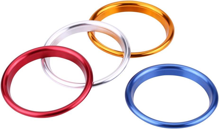 3 colores anillo decorativo para A3 despu/és de 2014 Suuonee cubierta de anillo de ventilaci/ón 4 piezas de salida de aire interior