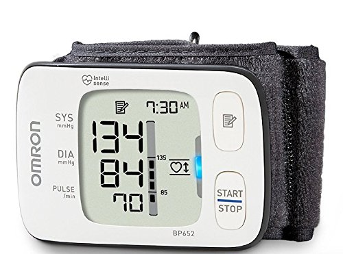 New! Omron 7 Series Wrist Blood Pressure Monitor with Heart Guide Technology by Omron