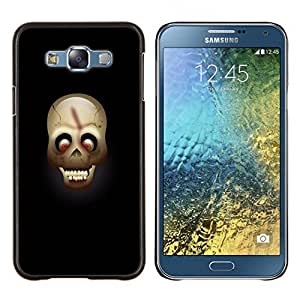 - Skull Devil Pattern - - Cubierta del caso de impacto con el patr??n Art Designs FOR Samsung Galaxy E7 E7000 Queen Pattern
