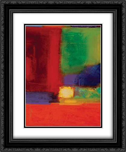 Vibration I 2x Matted 20x24 Black Ornate Framed Art Print by Collins, Gary Max