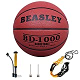 Daping Basketball Indoor/Outdoor Composite Leather, Street Basketballs Extra Grip and Control, Basketball with Pump, Needles, Net -- Official Size 7/29.5'