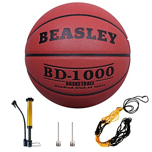 Daping Basketball Indoor/Outdoor Composite Leather, Street Basketballs Extra Grip and Control, Basketball with Pump, Needles, Net -- Official Size 7/29.5