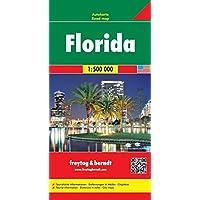 Freytag Berndt Autokarten, Florida - Maßstab 1:500.000: Wegenkaart 1:500 000 (freytag & berndt Auto + Freizeitkarten)