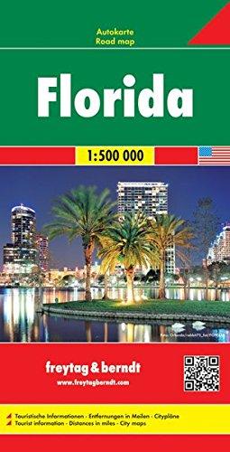 Florida, mapa de carreteras. Escala 1:500.000. Freytag & Berndt. (Auto karte) (Inglés) Mapa – Mapa doblado, 1 jun 2016 VV.AA. 3707914321 Gazetteers & Maps) Travel maps & atlases