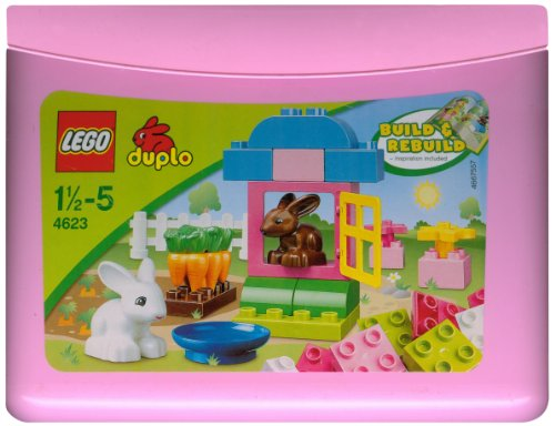 Lego Duplo 4623: Pink Brick Box (Brick Pink Duplo Box)