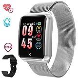 GOKOO Sports Smart Watch for Men Women with Heart Rate Blood Pressure Sleep Monitor IP67 Waterproof Activity Tracker Calorie Pedometer Counter Bluetooth Smartwatch Fitness Tracker