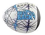 Passback Sports Peewee Rubber Passback Football (Ages 4-8)