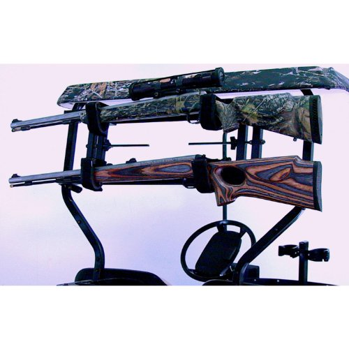 Ride Gun Rack - Great Day UVCCPR700 Custom Cart Power-Ride Gun Rack