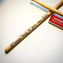 Personalized gift wooden drumsticks Father\'s Day gift musician gift drummer sticks drums unique personalized gift husband boyfriend customized DS01