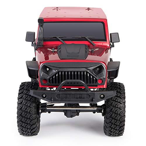 @MZL Monster Truck Fast Electric Rock Crawler 4WD high Speed car 1/10 Ratio Simulation/Restore 2.4Ghz Wireless Remote Control Racing Race Desert car Adult Professional Off-Road Climbing ()