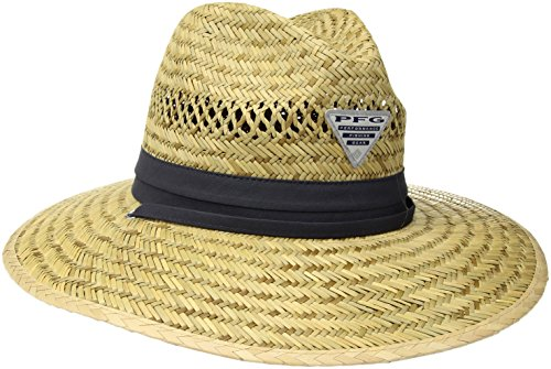 Columbia Men's wrangle Mountain Hat, Straw/Nightshade PFG, XL