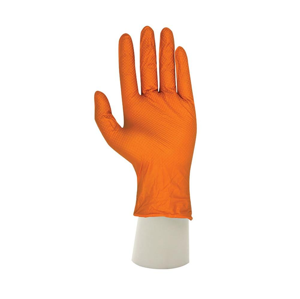 Disposable rubber gloves thickening anti-oil latex labor insurance tools to work anti-stains / 50 pairs