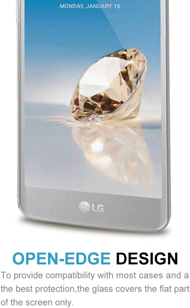 JIN Screen Film 100 PCS for LG Aristo 2 0.26mm 9H Surface Hardness 2.5D Explosion-Proof Tempered Glass Screen Film