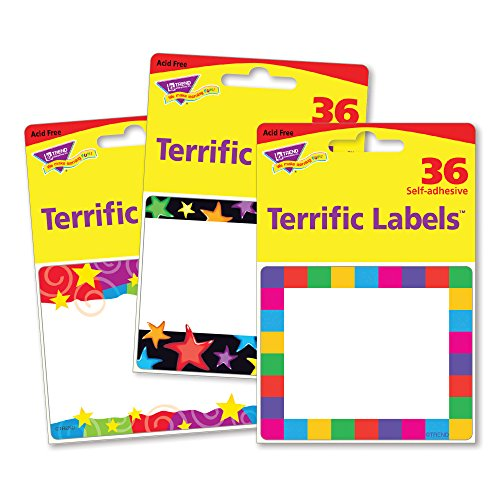Trend Enterprises Colorful Creations Terrific Labels, 108 ct by Trend Enterprises Inc (Image #4)