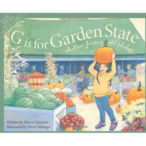 G is for Garden State: A New Jersey Alphabet (Discover America State by State) (Hardcover)