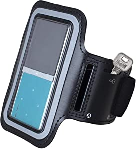 MP3 Player Armband, New Version Adjustable Sport Running Jogging Arm Band for Apple iPod Nano 4th Generation and Other ONN RUIZU etc. MP3 MP4 Players MP3 Player Holder by DeeFec