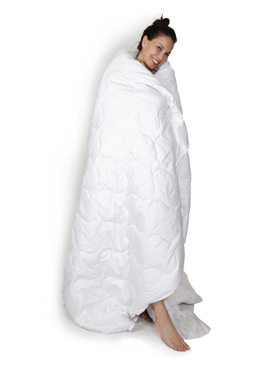 Alpaca Duvet - Hypoallergenic Comforter / Down Alternative - 100% Alpaca Wool Filling with 100% Pima Cotton Casing | Polar Heavy Weight ~ NEW (King/Cal King)