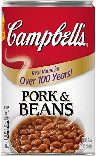 Beans: Campell's Pork & Beans
