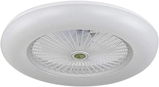 Ventilador-plafon led dimable RAKI blanco, NOVEDAD.: Amazon.es ...
