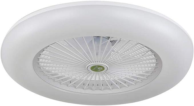 Ventilador-plafon led dimable RAKI blanco, NOVEDAD.: Amazon.es: Iluminación