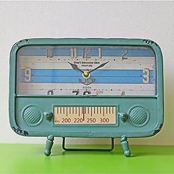 Guaz Vintage Radio Typ Eisen Pendeluhr Pendel Eingerichtetes