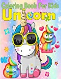 Unicorn Coloring Book For Kids: (US Edition 2019) (Unicorn Coloring Books)