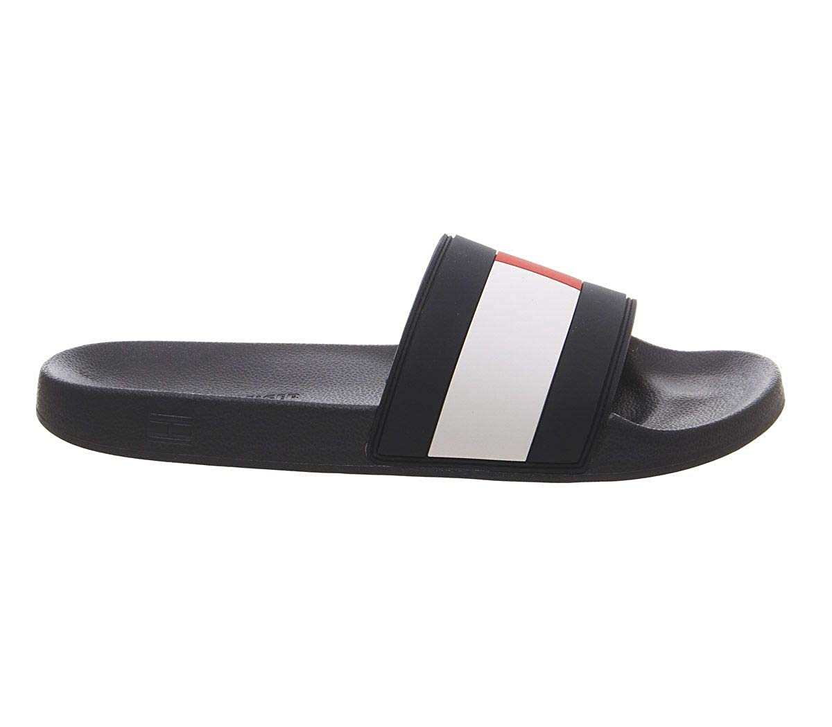 0ace01dc5c70 Tommy Hilfiger Men s s Flag Pool Slide Beach   Pool Shoes  Amazon.co.uk   Shoes   Bags