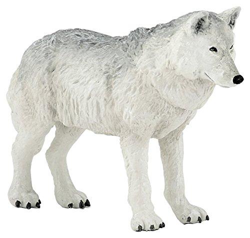 Papo Polar Wolf Figure, Multicolor ()