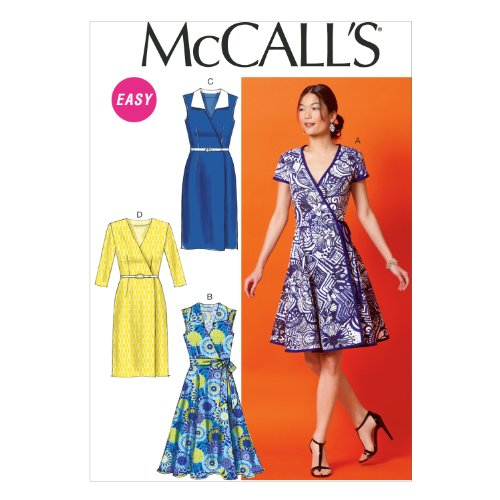 McCall Pattern Company M6959 Misses' Dresses and Belt, Size E5