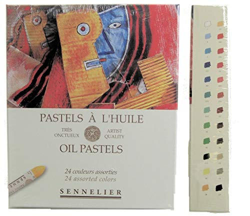 (Sennelier Oil Pastel Assorted Set of 24)