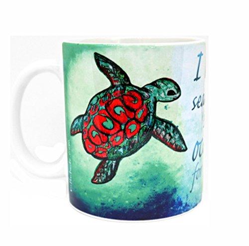 Amazon Home And Kitchen Sea Turtle Mug