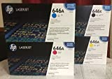 HP CE264X Black CF031A Cyan CF032A Magenta CF033A Yellow For CM4540 MFPPack of 4. Sold as 1 of each. by HP
