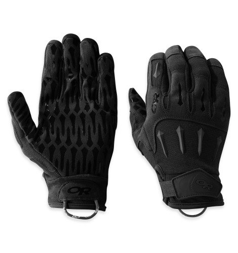 Outdoor Research Ironsight Gloves, All Black, L
