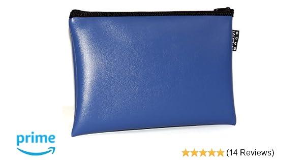 16x12 Inches// Blue Money Bag MDM Bank Deposit Bag Utility Zipper Bag