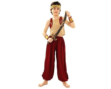 BOYS TOYS Disfraz DE Aladin 5-6 AÑOS: Amazon.es: Productos para ...