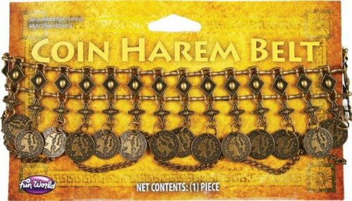 Belt Coin Harem (Gold Coin Harem Belt)