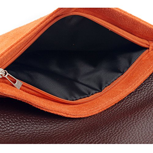 Clutch Large Party handbag Clutch Wedding Purse Suede Green Envelope Aossta Shaped Bag Italian wqHBX6nO