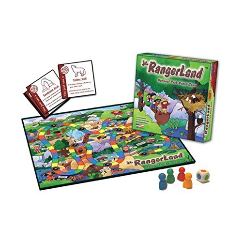 JR. RANGERLAND National Parks Game, Camping Games For Kids, Camp Games Kids And Adults Love