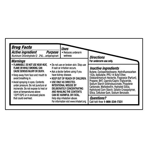 Degree Men Antiperspirant Deodorant Dry Spray UltraClear Black+White 3.8 oz 3 count