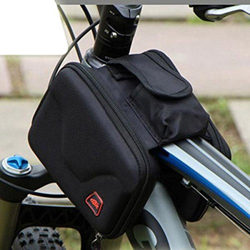 Bazaar Cadre de vélo vélo vélo sacoche sac de tube avant étanche