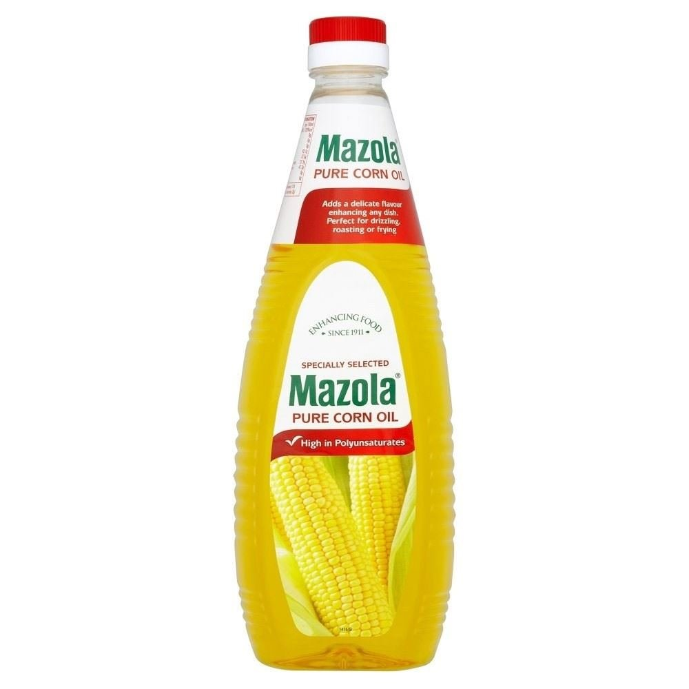 Mazola Pure Corn Oil (1L) - Pack of 6 by Mazola