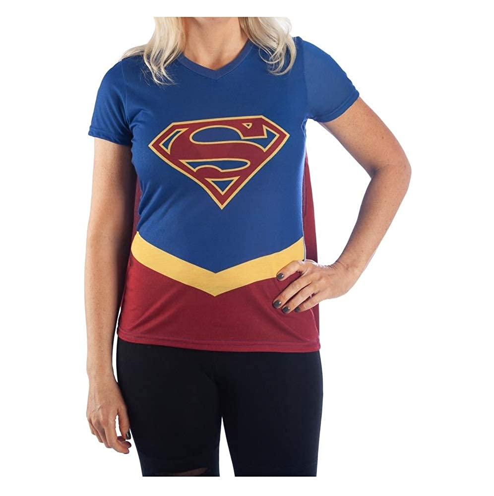 DC Superhero Cape Tee Cosplay Superhero Shirt Superhero Cosplay - Superhero Cape Shirt DC Comics Suprhero Tshirt
