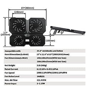 DeepCool Laptop Cooling Pad (Multi Core X6)
