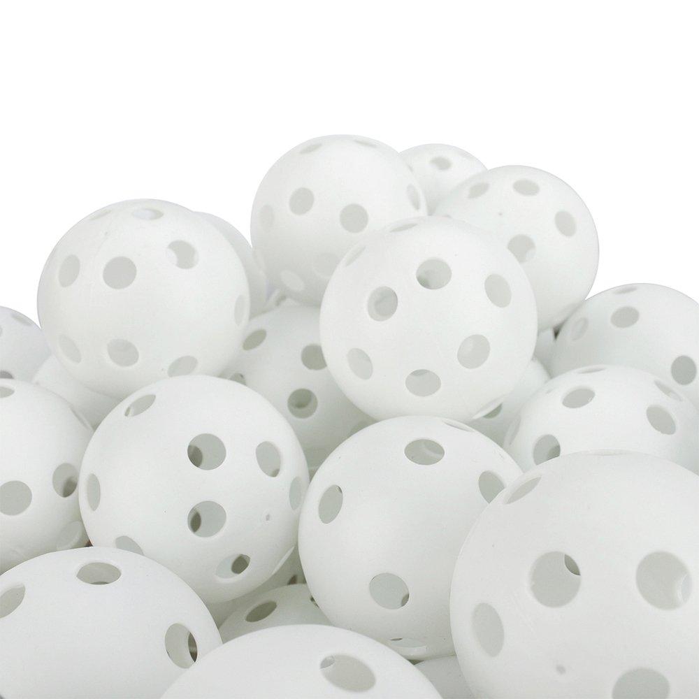 ゴーゴー48パックホワイトウィッフル練習ボールゴルフトレーニングボール42ミリメートル B001RFSTN2 B001RFSTN2, 最新最全の:b9222f90 --- dqfansurvey.online