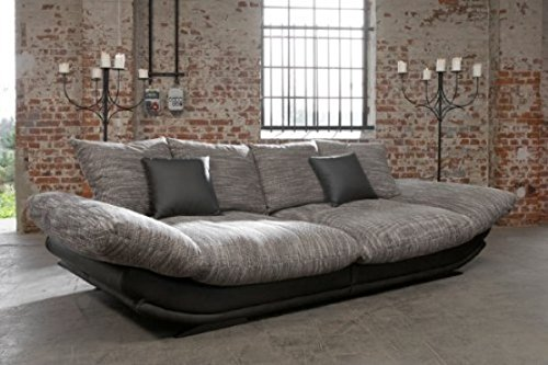 Megasofa Loungesofa Ultrasofa Sofa Couch Bigsofa ROSE E NewLook Trendmanufaktur