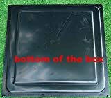 Sold Mold for Concrete Decor box Garden Protection flower beds Planter #F09 (bottom of the box)