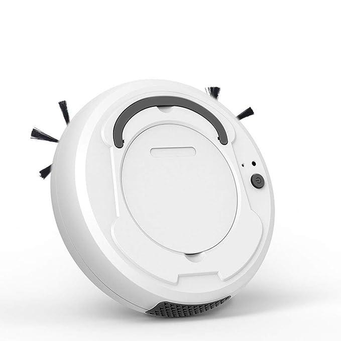 SCJ Aspirador Inteligente de Gran Capacidad de Gran Capacidad, Robot de Barrido Ultrafino - Sensor Inteligente - Arranque con un Solo botón, ...
